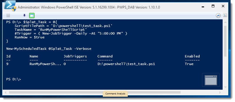 How To: Create a Scheduled Task Using PowerShell