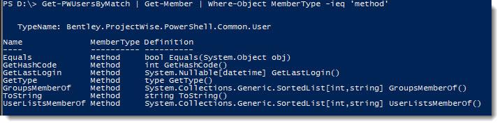 User-Get-Member-methods