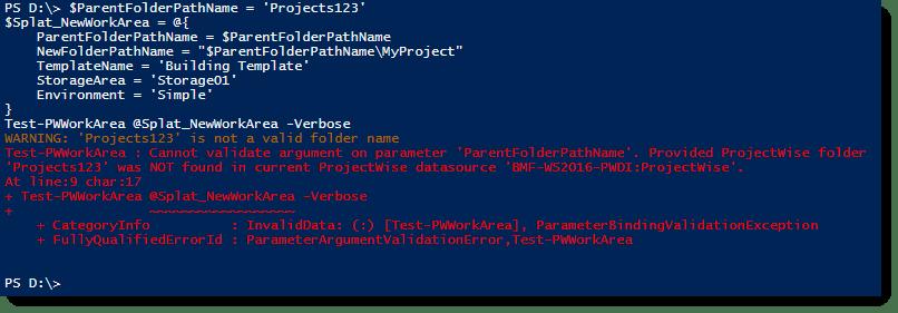 pwInvalidParentFolder